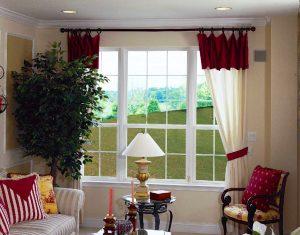 9 Over 6 Oriel Window Combination w/ Colonial Grids