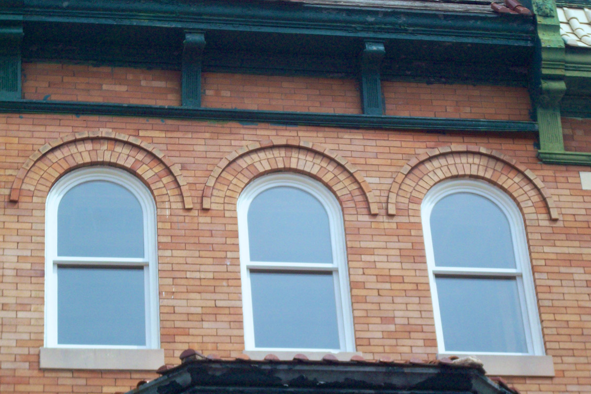 Round top single hung windows weathermaster windows for Round top window