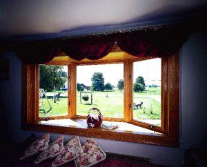 30 Degree Wood Bay Window