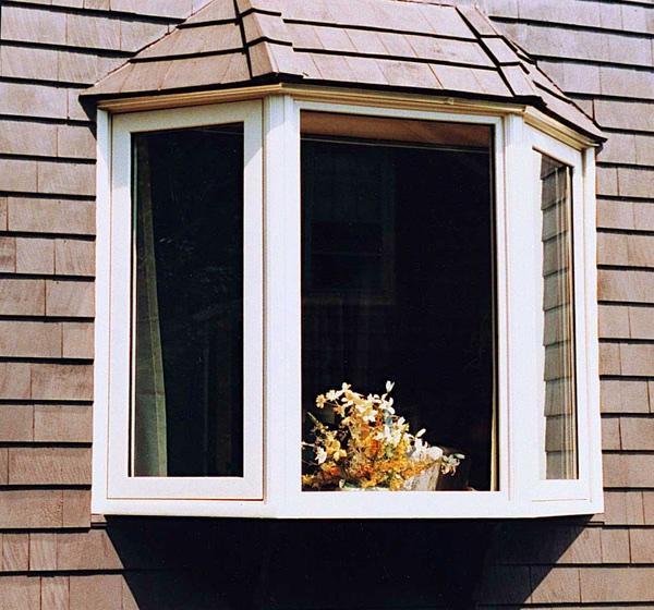 45 Degree Bay Window w/ Hip Roof