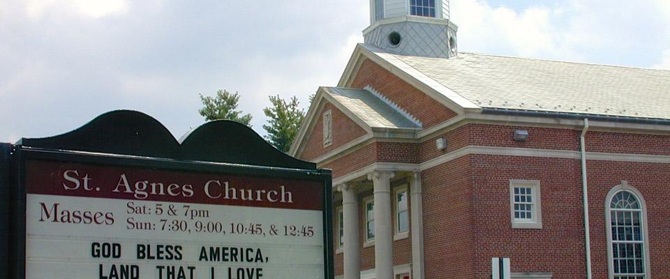 St Agnes Church Exterior