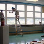 St Agnes School Window Installation