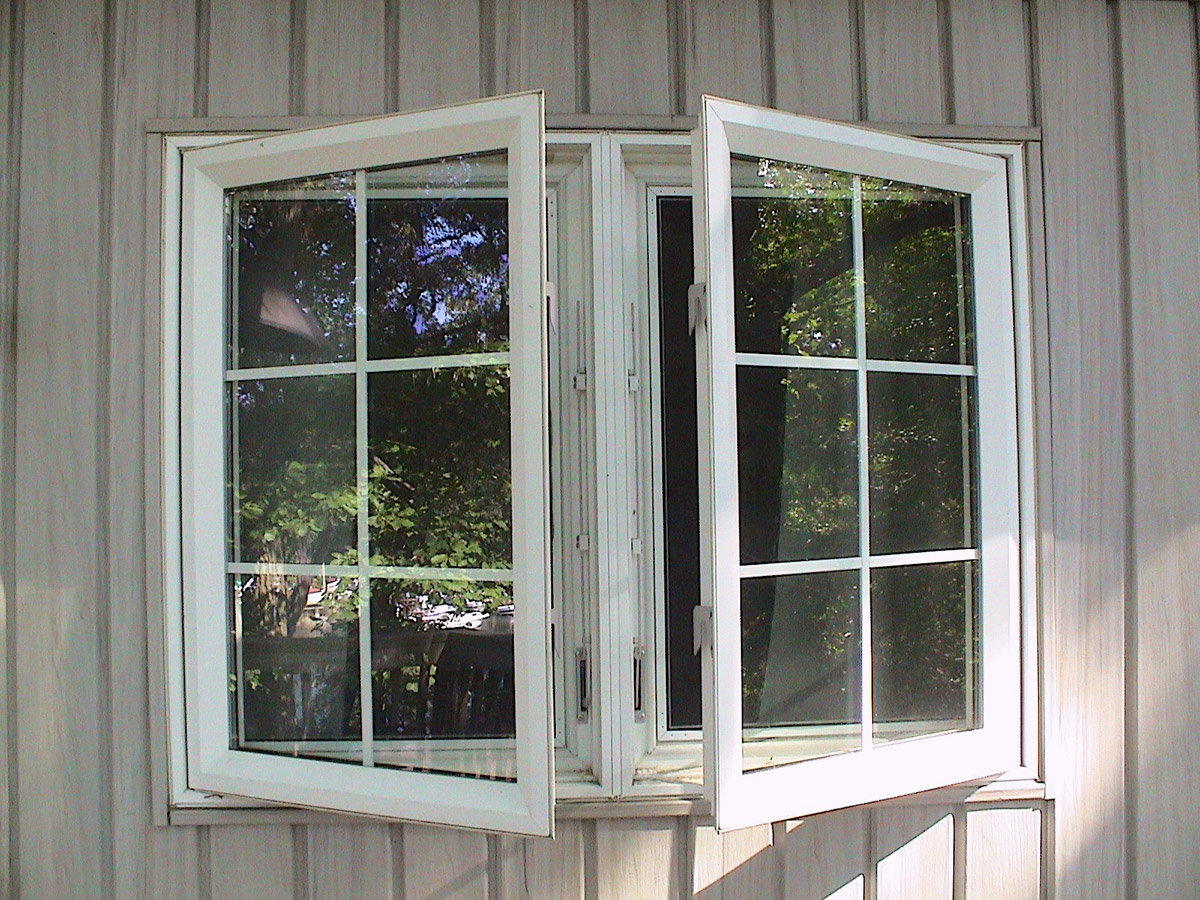 Twin Casement Window W Colonial Grids Weathermaster Windows