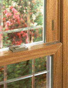 Woodgrain Window Frames