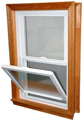 Weathermaster wood frame window